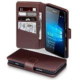 Lumia 950 Case, Terrapin [ECHT LEDER] Brieftasche Case