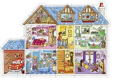 Orchard Toys - Puzle de la casa de muñecas de Orchard Toys