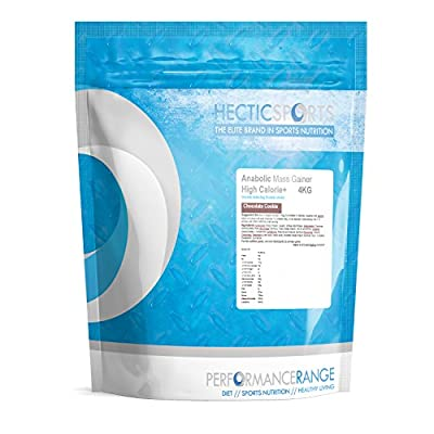 Hectic Sports Deluxe Chocolate Flavour Whey Protein Anabolic Mass Gainer Shake, 4 kg by Hectic Sports