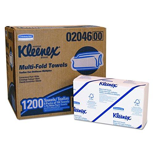 Kleenex 6772 Ultra Handtücher (Airflex Interfold), 94 Blatt pro Karton, 30-er Pack