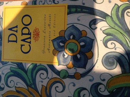 Da Capo: An Italian Review Grammar (English and Italian Edition) by Graziana Lazzarino