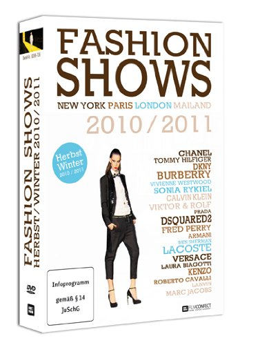 Fashion Shows Herbst/Winter 2010/2011 (4 DVD-Box) - Designer und Topmodels auf den...