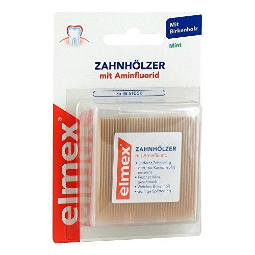 Elmex Zahnhölzer 3X38 stk