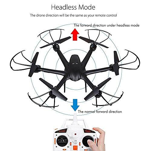 Live Video FPV Drohne mit Kamera MJX X600 Drone Quadcopter Throttle Limit Ein Key rückwärts VR Kompatibel - 4