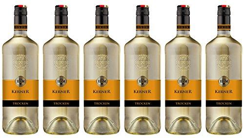 HXM Kerner Trocken Qualitätswein aus Rheinhessen (6 x 1 l)
