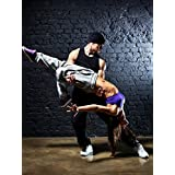 Postereck - 0522 - Hip Hop Tanz Paar III - Poster 80.0 cm x 60.0 cm