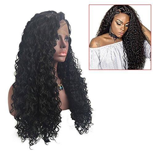 r Frauen Perücke PU hitzebeständig Lange Perücke Zubehör-Haar (Erwachsenen Die Ganze Nacht Party Kostüme Perücke)