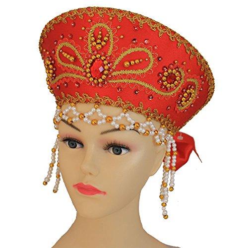 Kokoschnik, russischer Kopfschmuck 'Vicky' (Ideen Russische Kostüm)