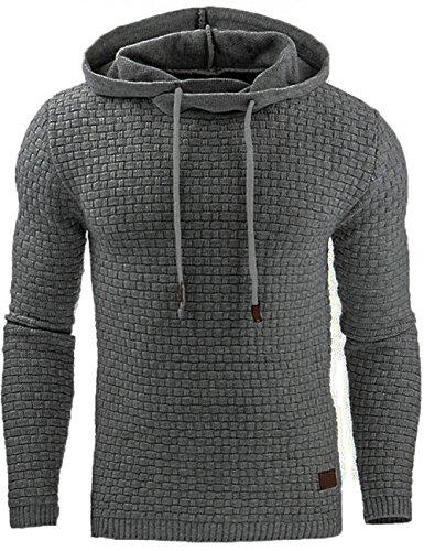 Junshan herren kaputzenpullover oversize hoodies männer sweatshirt Herbst Winter kaputzenpulli