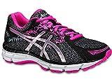 asics Gel-Oberon 10 T5N6N Damen Running black/silver/pink *UVP 79,99 44,5