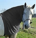 Pferdehalsdecken Ekzemerdecke Halsteil (Pony, grau)