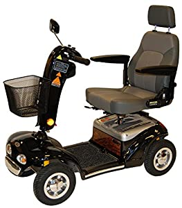 Roma Medical (Shoprider) Perrero Class 3 Mobility Scooter - Black