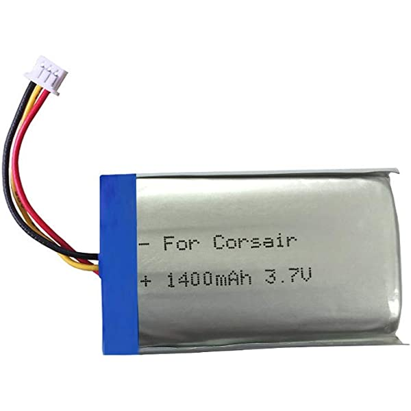 3.7v Lithium Ion Battery 1400mAh Replacement for: Amazon.co