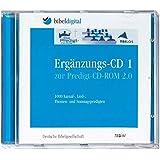 Die Predigt-CD-ROM 2.0, Ergänzungs-CD, 1 CD-ROM 1000 Kasual-, Lied-, Themen- und Sonntagspredigten. Für Windows ab 98 (auch Vista