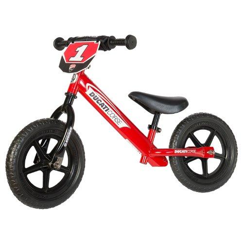 Strider 12Sport Balance Bike, Alter 18Monate bis 5Jahre, Custom 2015 Ducati Red