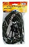 Boyz Toys RY96 Heavy Duty Bungee Cord, Pack of 4