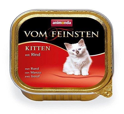 Animonda Katze Vom Feinsten Kitten Rind Größe 16 x 100g