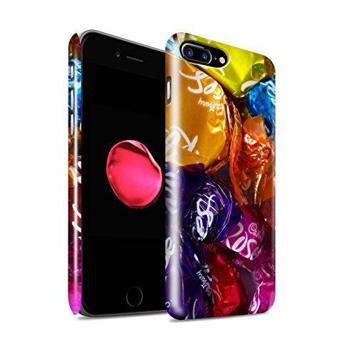 STUFF4 Glanz Snap-On Hülle / Case für Apple iPhone 8 Plus / Jelly Beans Muster / Bonbons/Süßigkeiten Kollektion Roses
