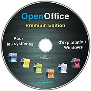 OpenOffice Premium Edition pour Windows 10 / 8 / 7 / Vista /XP (32 & 64 Bit)