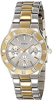 Reloj Guess Glisten W14551l2 Mujer Plateado