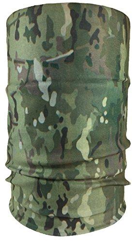 Premium Multifunktionstuch Sturmmaske Totenkopf, Joker und viele mehr. Halstuch mit Totenkopf- Skelettmasken (Multitarn)