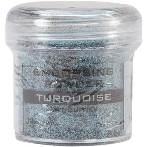 Ranger Embossing Powder, 1-Ounce Jar, Turquoise by Ranger
