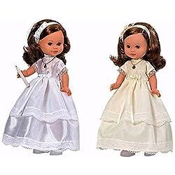 Rosa Toys Muñeca de comunion Morena