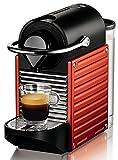 Krups XN 3006 Nespresso Pixie Electric Rot (Zertifiziert und Generalüberholt)