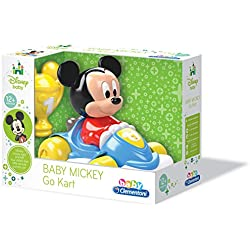 Clementoni - Coche teledirigido de baby Mickey (17093.7)