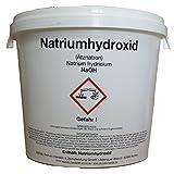 Natriumhydroxid ( Ätznatron) NaOH 5000 g ( 5 KG)