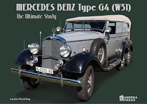 Mercedes Benz Type G4 (W31): The Ultimate Study por Luis Miguel Sanchez