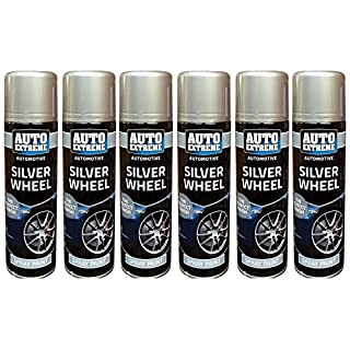 Silver Wheel Spray Paint Aerosol Can Auto Extreme Car Van Bike Can of 250ml New (6)
