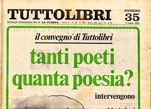 Tuttolibri n. 35 del Luglio 1976 Grass, Ferrucci, Navarria, Puccini, Capote