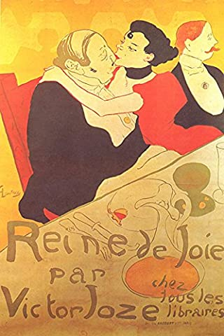 Henri de Toulouse Lautrec – Fine Art Print Vintage s'embrassant, Up to 594mm by 841mm or 23.4