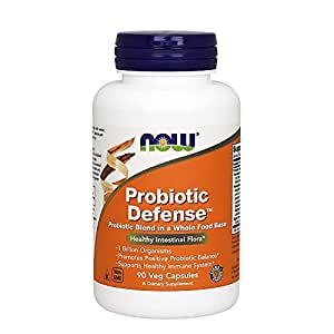 Now Foods Probiotic Defence Veg Capsules - 90 Capsules