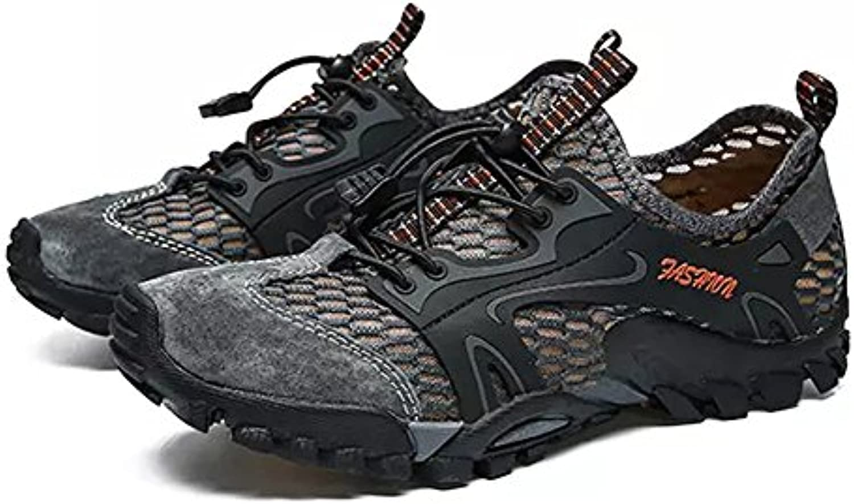 Zapatillas para Hombre Malla Transpirable Senderismo Sandalias atléticas Zapatillas para Correr Ocasionales de...