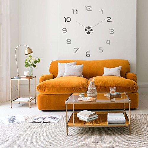 Soledì - splendido orologio da parete deluxe con numeri adesivi, ottimo regalo