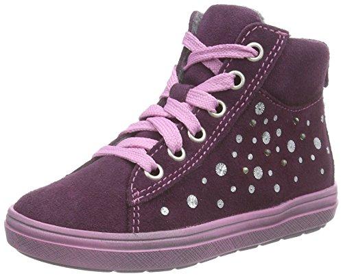 Richter Kinderschuhe Ilva, Mädchen Hohe Sneakers, Violett (eggplant 7600), 31 EU