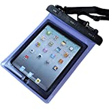 LUPO Waterproof Bag for Apple iPad 1, 2, 3, 4, Air and 10 inch Tablets