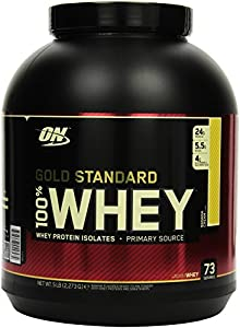 Optimum Nutrition Whey Gold Standard Protein, Banana Cream, 1er Pack (1 x 2,273kg)