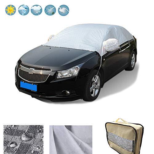 RunSnail Telo Copriauto Impermeabili Inverno, Teli per Copertura Anti-Gelo, UV, Pioggia, Polv