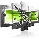 murando - Bilder 200x100 cm - Vlies Leinwandbild - 5 TLG - Kunstdruck - modern - Wandbilder XXL - Wanddekoration - Design - Wand Bild - Abstrakt a-A-0010-b-p