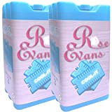 Rose Evans® Freezer Blocks - Suitable For Cooler Boxes & Bags - Cools & Keeps Food Fresh - In Packs of 3/6 (Pack of 6)