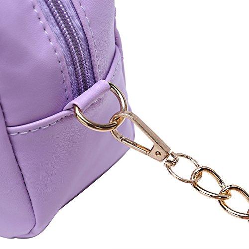 Faysting EU donna fashion borsa a tracolla donna borsa a spalla vari colori scelgliere rete elegante pelle stile buon regalo san valentino E