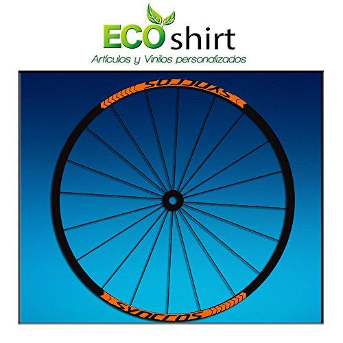 Ecoshirt Q3-PT59-2NJ1 Pegatinas Stickers Llanta Syncross