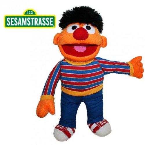 Living Puppets Sesame Street - Barrio Sésamo - Felpa Figura de Peluche Ernie 37 cm