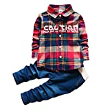 A P Boutique Baby Boys shirt pant Set Imported Birthday Party Wear Clothes casual Shirts (3-4 Years)