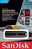 SanDisk Extreme 32 GB USB-Flash-Laufwerk USB 3.0 bis zu 245MB/Sek