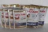 4 x Royal Canin 85g Chihuahua Adult Spezialfutter Feuchtfutter + 4 x gratis Trockenfutter 50g