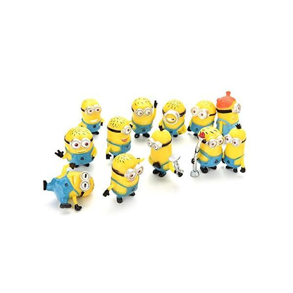 Bestim Incuk - Figuras de acción de Minions de la película Gru 2: Mi Villano Favorito 3